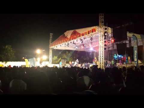 Lovindeer performing 'Man Shortage' at opening of St. Lucia Jazz 2016