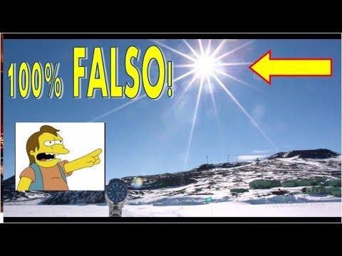 EL SOL GIRANDO 360 GRADOS EN LA ANTARTICA!, 100% FALSO, ME TOMO 5 MINUTOS DARME CUENTA!, FLAT EARTH