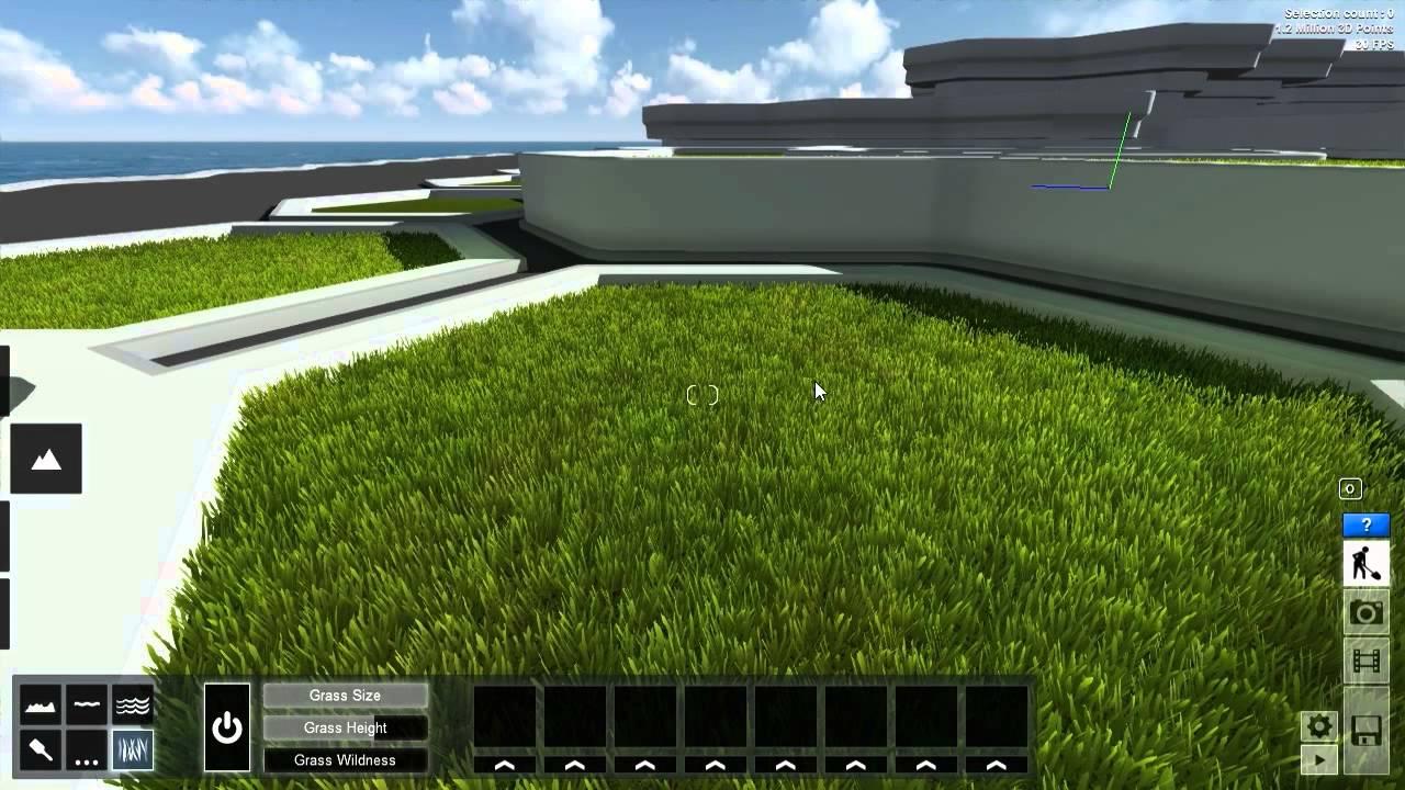 0236 Grass Settings - YouTube