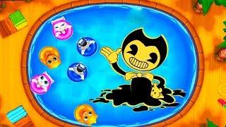 ГОВОРЯЩИЙ ТОМ АКВАПАРК ОХОТА ЗА БЭНДИ #2 мультик игра видео для детей Talking Tom Poo
