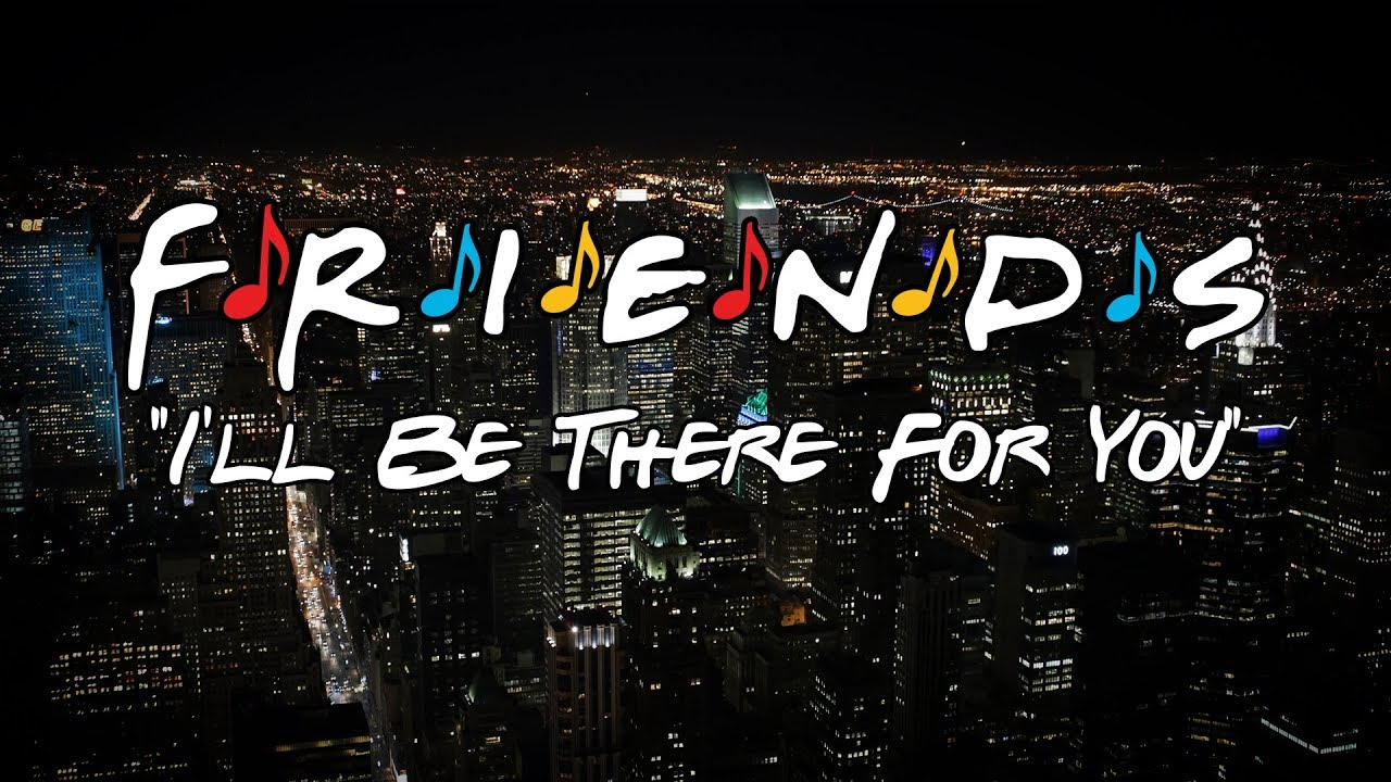 I'll Be There For You (Friends Theme) - Sheet Music - YouTube