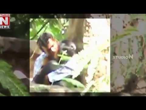Couples Romance at Indira Park - Hyderabad