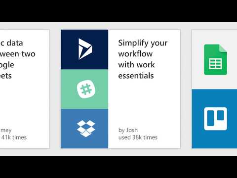 Introduction to Microsoft Flow