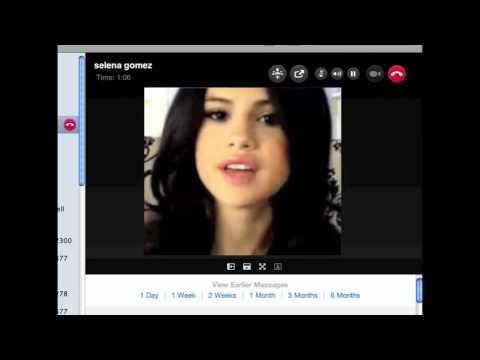 Selena Gomez Skype
