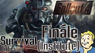 Fallout 4 - Finále (Inštitút) / 1080p / CZ/SK Lets Play / # 89