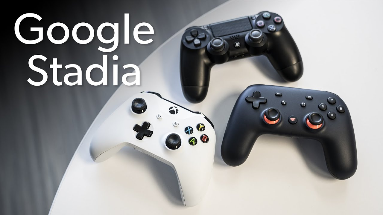 Google Stadia controller unboxing & comparision - YouTube