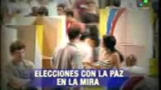 Elecciones de Gobernaciones y Alcaldias en Colombia 25/10/2015.-