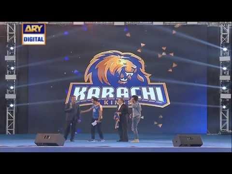 Mayor Waseem Akhtar at Karachi King's launch event