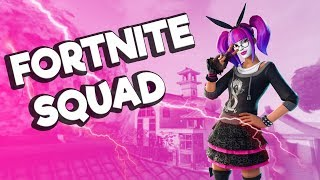 EVENING FORTNITE SQUAD WITH GUYS SKIN GIFTELAND!!!