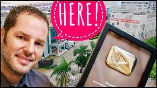 YouTube Play Button is MADE in CHINA - I went to find out where!