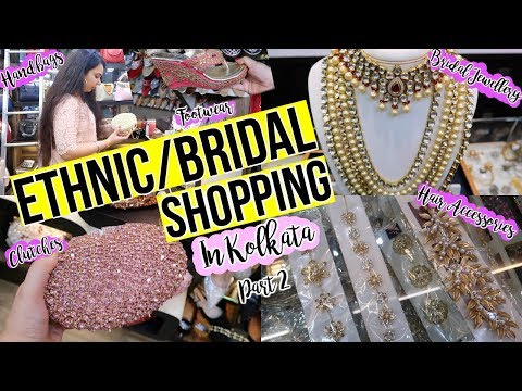 Ethnic/Bridal Shopping in Kolkata Part 2 | Metro Plaza Tour | Wedding Shopping