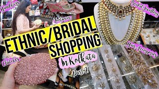 Ethnic/Bridal Shopping in Kolkata Part 2   Metro Plaza Tour   Wedding Shopping