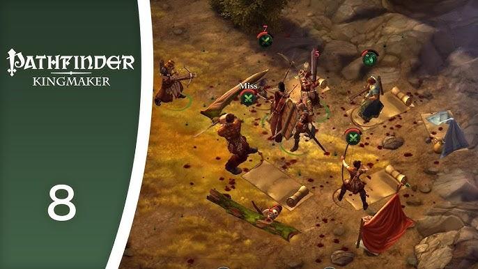 Pathfinder Kingmaker 104 Flirting With Regongar Octavia Youtube