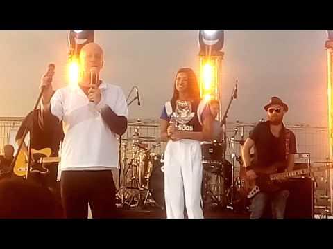 ANTONIA LIVE - Concert PROFM - Casa Poporului - dialog Andrei Gheorghe