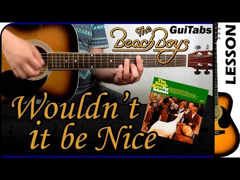 How to play Wouldn't It Be Nice 🌞 - The Beach Boys / Guitar Tutorial 🎸