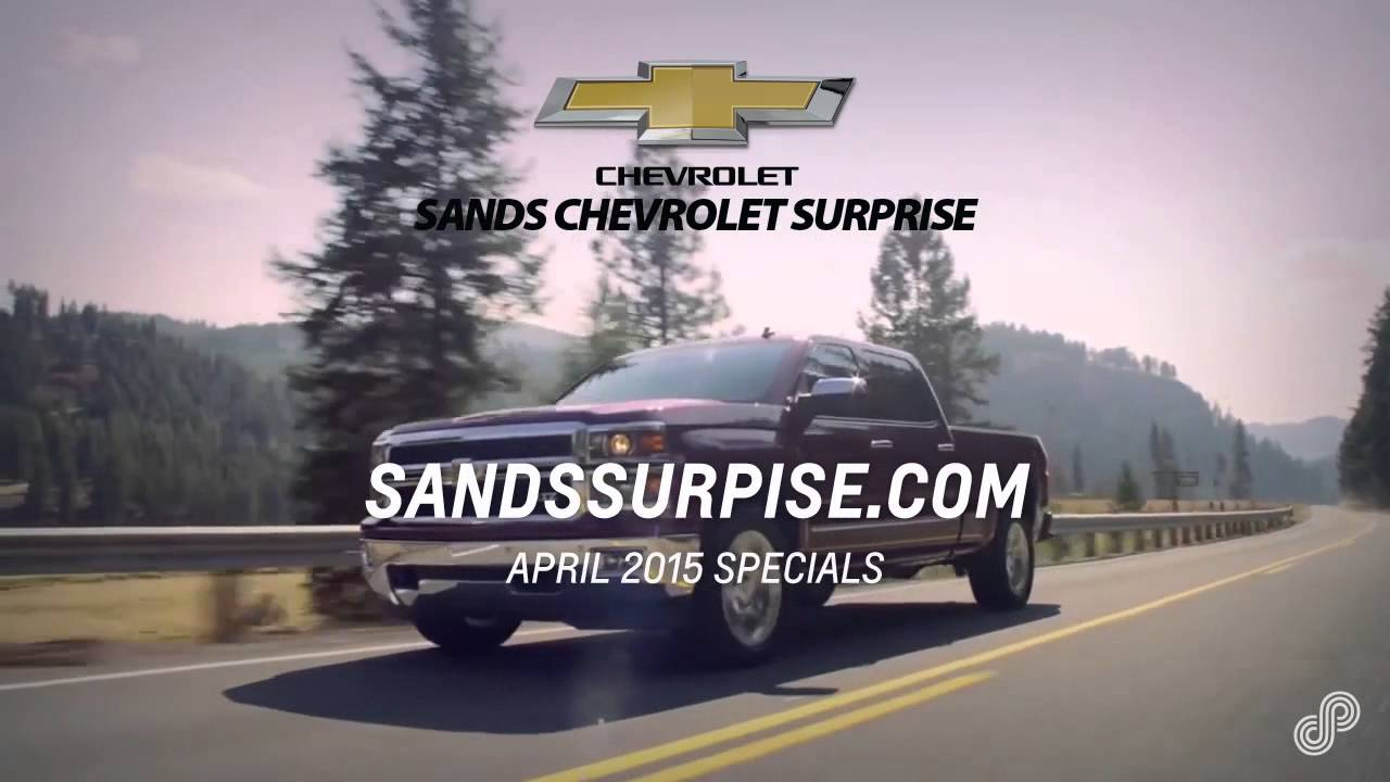 Sands Chevrolet Surprise >> Sands Chevrolet Surprise April 2015 HLD - YouTube