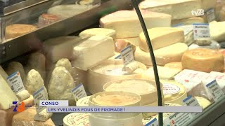 Consommation : Les Yvelines folles de fromage