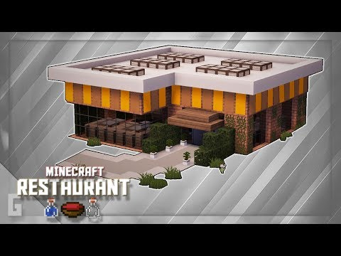 Minecraft: How To Build A Restaurant