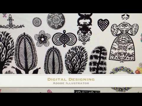 Charlotte Gaisford a Textile Designer's creative process