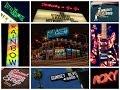 Capture de la vidéo Sunset Strip, Los Angeles: Whisky A Go Go, The Roxy, Rainbow Bar & Grill, Viper Room (Sunset Blvd)