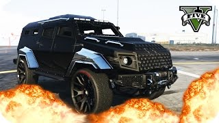 TEST DE CHOQUE!! | INSURGENT CRASH TEST!! INDESTRUCTIBLE!! | GTA V ONLINE GAMEPLAY | Flowstreet