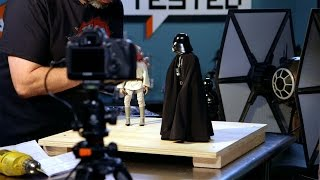 Tested Builds: Stop-Motion with Action Figures!