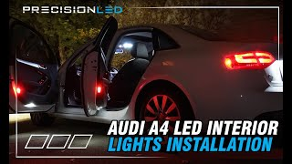 audi a4 led interior lights how to install multiple generations 2009 present