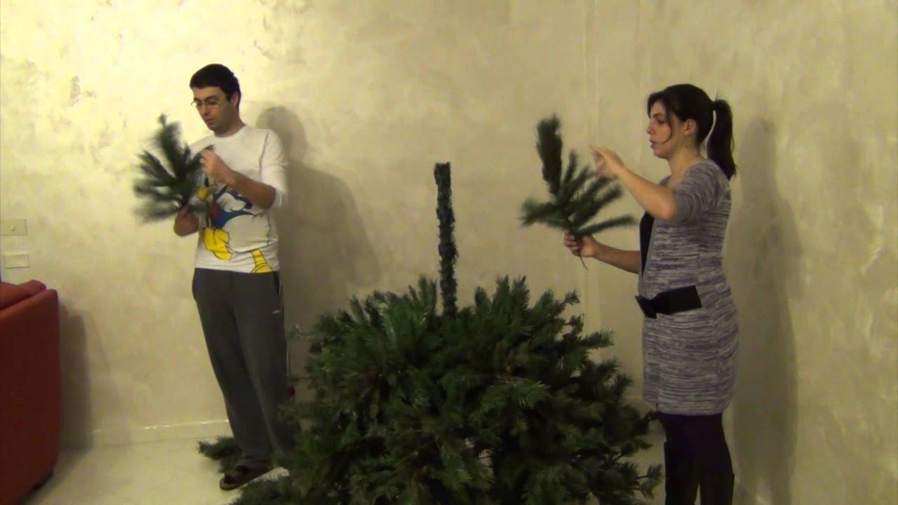 Come fare l 39 albero di natale costruzione e montaggio for Obi albero di natale