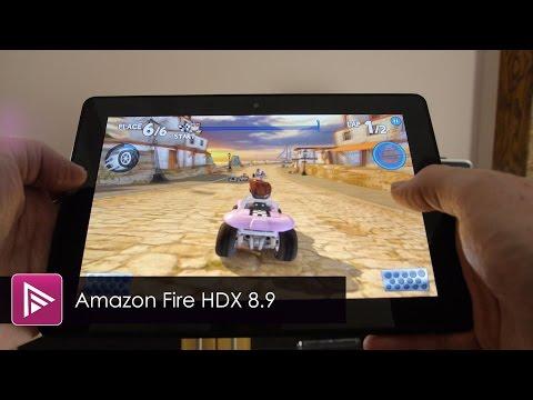 Amazon Kindle Fire HDX 8.9 Tablet Review
