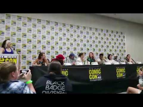 Season 3! Wynonna Earp Panel at San Diego Comic Con 2017