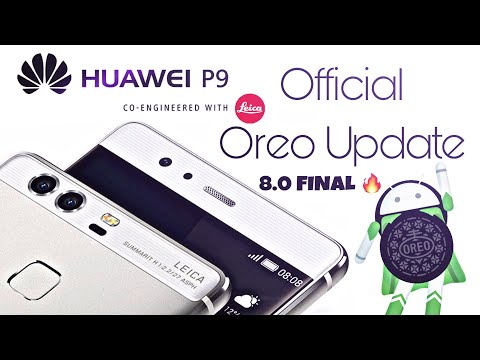 Huawei P9/P9 Plus Official 8 0 Oreo Update - YouTube