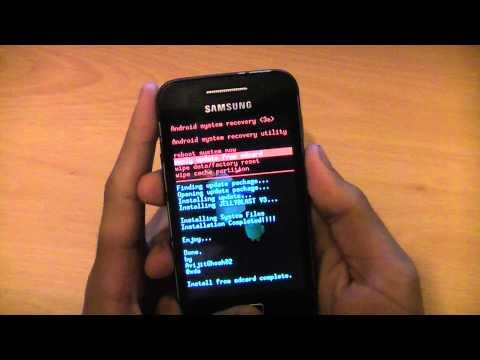 How To Install Android 4.1.1 Jelly Bean On Samsung Galaxy Ace S5830i - Custom Rom JellyBlast V3