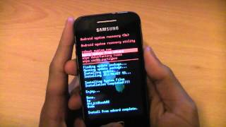 How To Install Android 4.1.1 Jelly Bean On Samsung Galaxy Ace S5830i - Custom Rom JellyBlast V3