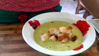 Крем-суп из брокколи- Оочень вкусный / Cream of Oochen delicious brokkoli-