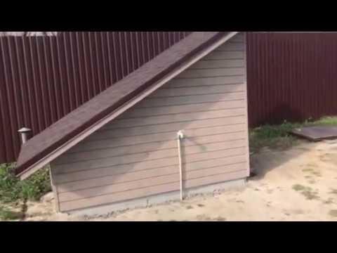 Кессон-погреб: 💧 грунтовая вода на 80 см. 😲 Устанавливали прямо в воду!