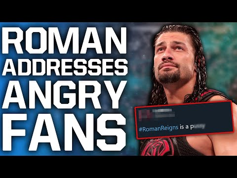 Roman Reigns Addresses Fan Backlash For Pulling Out Of WWE WrestleMania 36