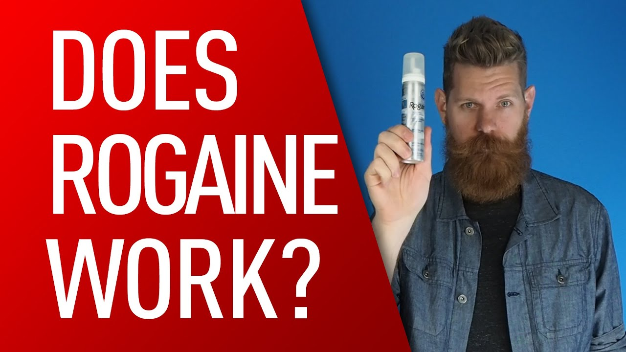 Will rogaine help me grow facial hair