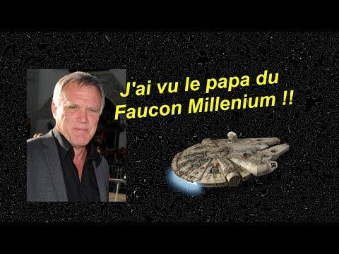 Joe johnston : le papa du Faucon Millenium (comic con 2017)