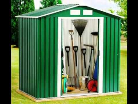 DIY decorating Ideas for Small garden shed - YouTube