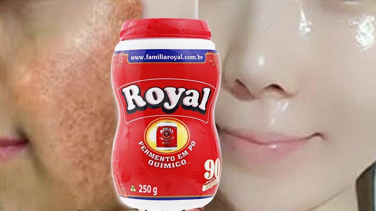 Pele De Bebe Em 2 Dias Use Po Royal Para Remover Manchas E Rugas Da