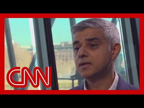 London Mayor: We feel the long shadow of Trump