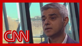 London Mayor: We feel the long shadow of Trump