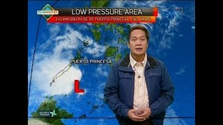 Weather update as of 6:00 a.m. (February 15, 2018)