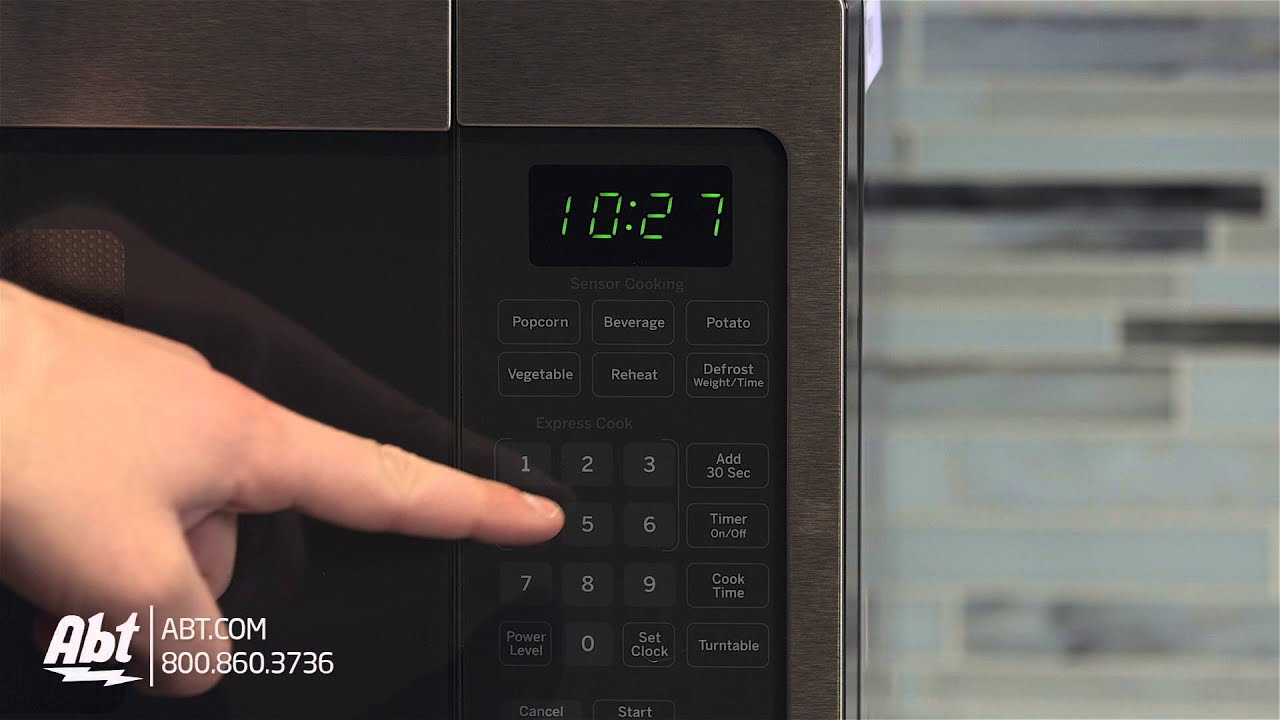 ge profile stainless steel countertop microwave oven pem31sfss overview