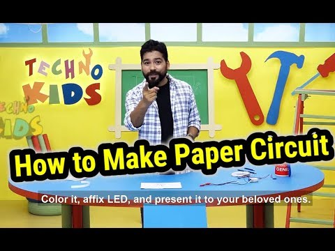 How to Make Paper Circuit   Techno Kids Episode 01   DIY Tricks and Life Hacks