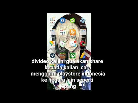 Cara Mengganti Playstore Indonesia Ke Negara Lain