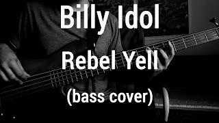 Video Billy Idol - Rebel Yell (bass cover)🎸 download MP3, 3GP, MP4, WEBM, AVI, FLV Juli 2018