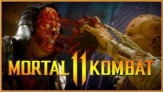 MORTAL KOMBAT 11 - Official Fatalities Gameplay Trailer 2019 (Switch, PC, PS4 & XB1) HD