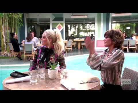 Real Housewives of Beverly Hills Unseen Footage: Eileen catchs up with Erika and Lisa