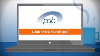 Formation en ligne Audit interne SMI QSE
